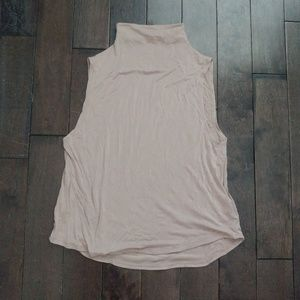 Aritzia Babaton Sleeveless High neck Tank Size XS